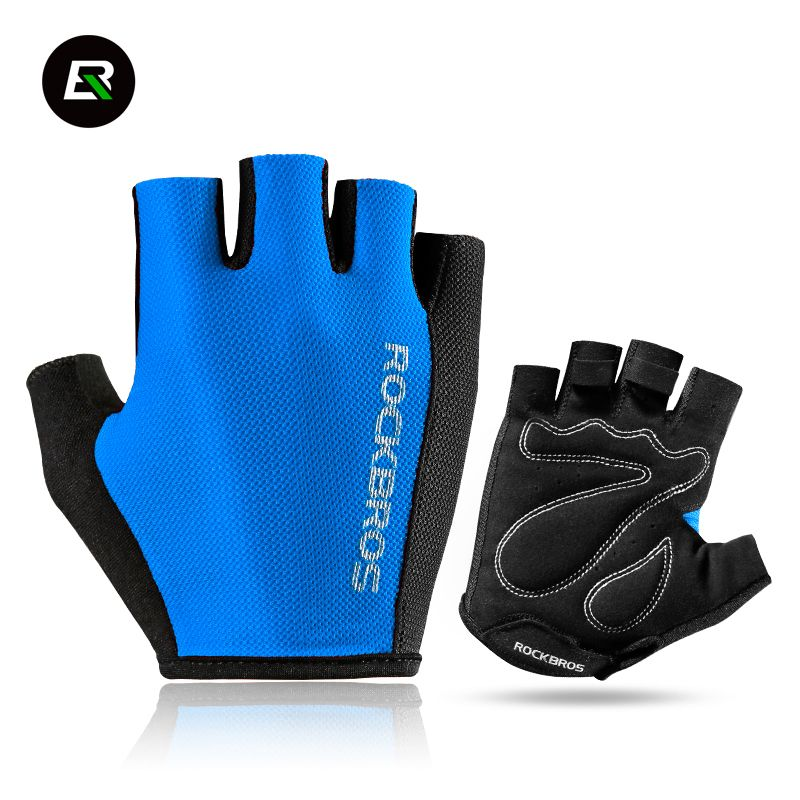 Outdoor Sports Cycling Bike Bicycle Half Finger Fingerless Gloves  M//L 4 Color