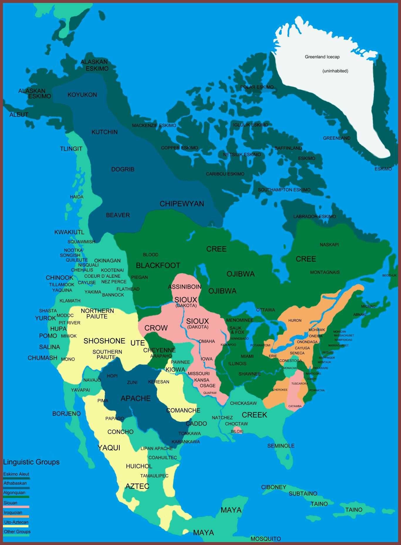 América Del Norte Primeros Pobladores Mapas Maps Pinterest - Map teardrop from russia to us