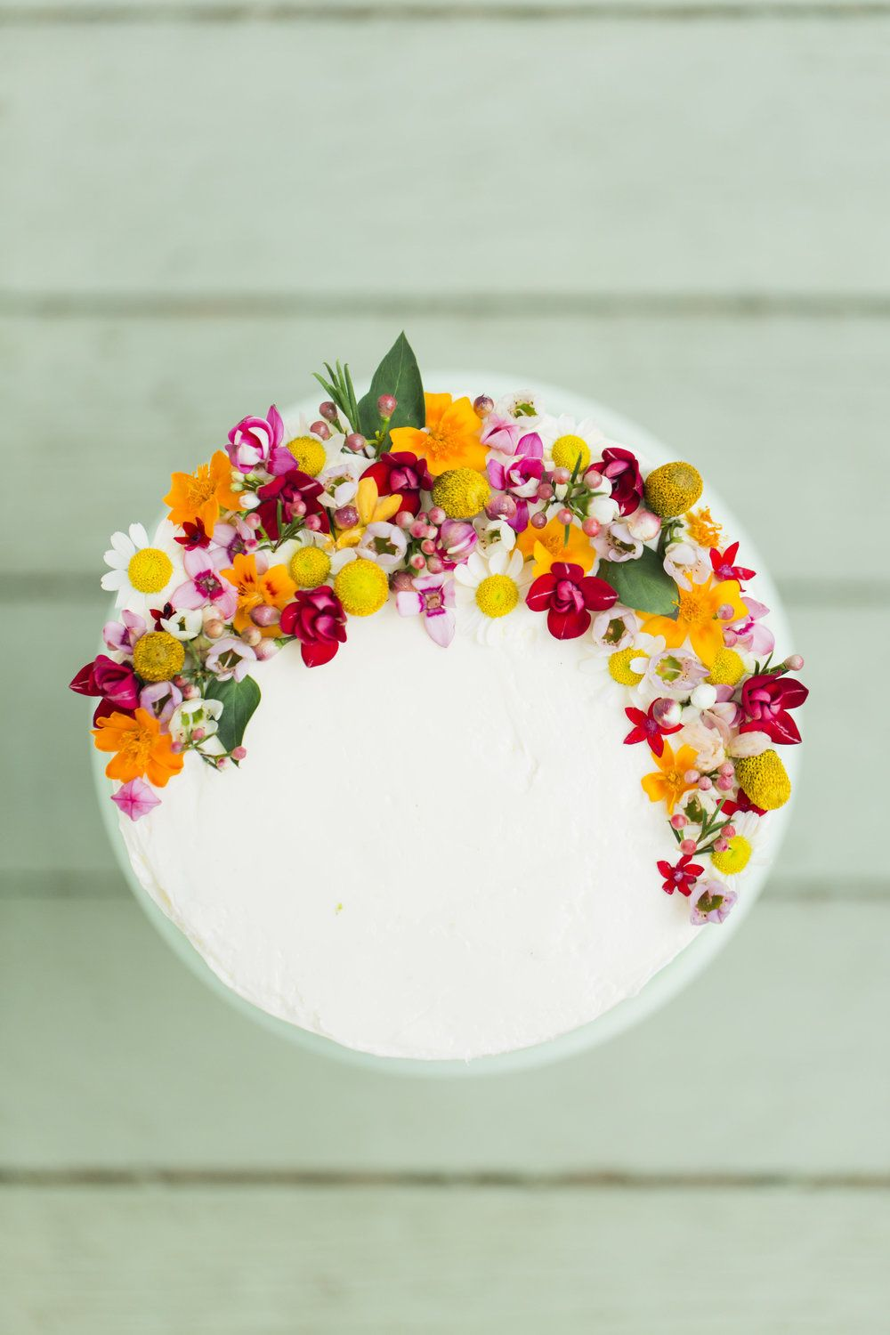 FLORAL + HONEY CAKE INSPIRATION Edible flowers, Cake and ...
