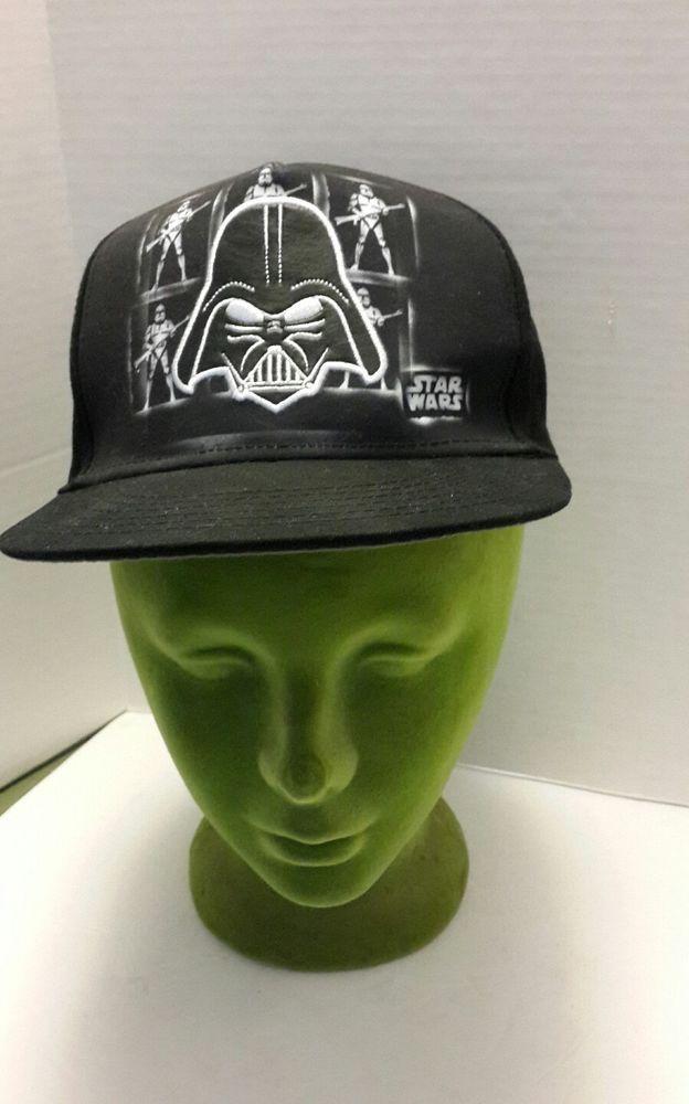 best sneakers 24e62 5f3e1 Star Wars Darth Vader Snapback Hat Lucasfilm Ltd. Black Vader Patch NWOT   StarWars  TruckerHat