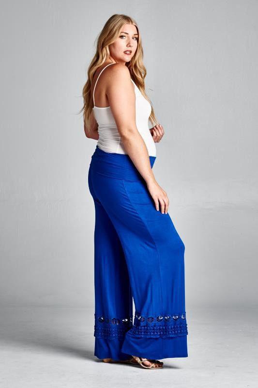 Viace Plus Size Maternity Pants