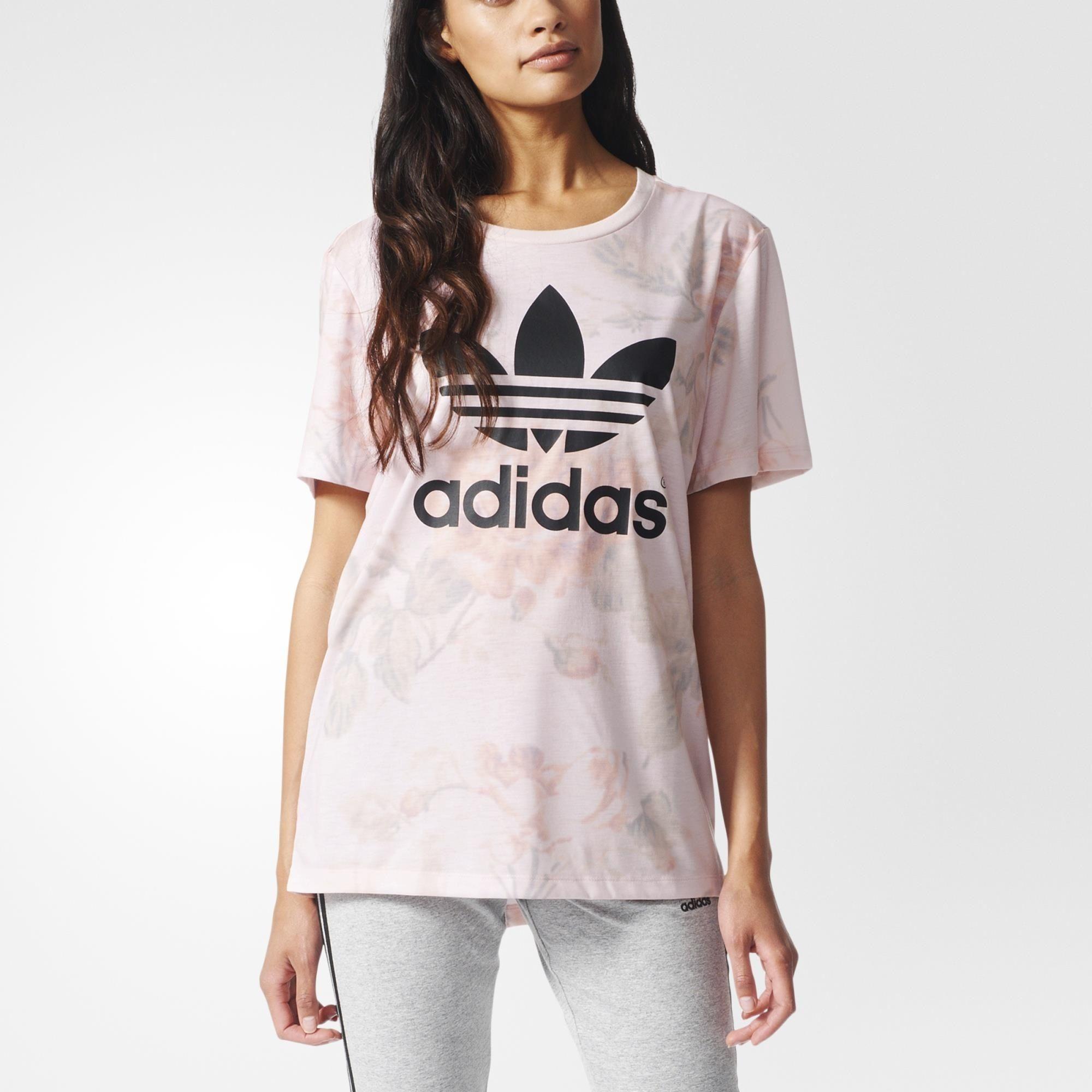 adidas pastel rose tank top