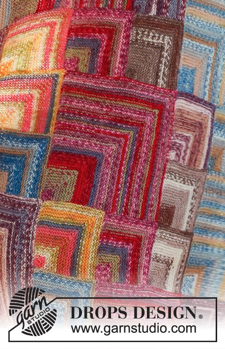 Photo of Moroccan colors / DROPS 145-24 – Kostenlose Strickanleitungen von DROPS Design