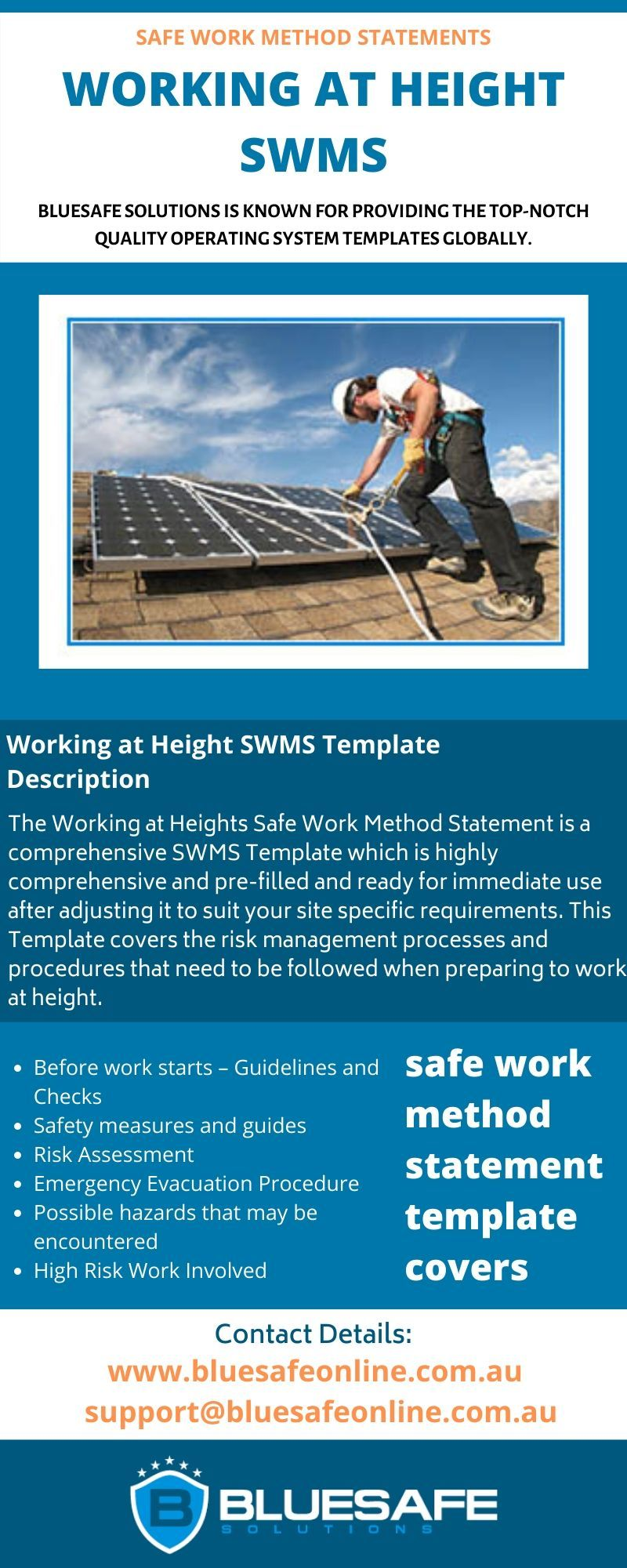 Working At Heights Swms Safety Management System Check And