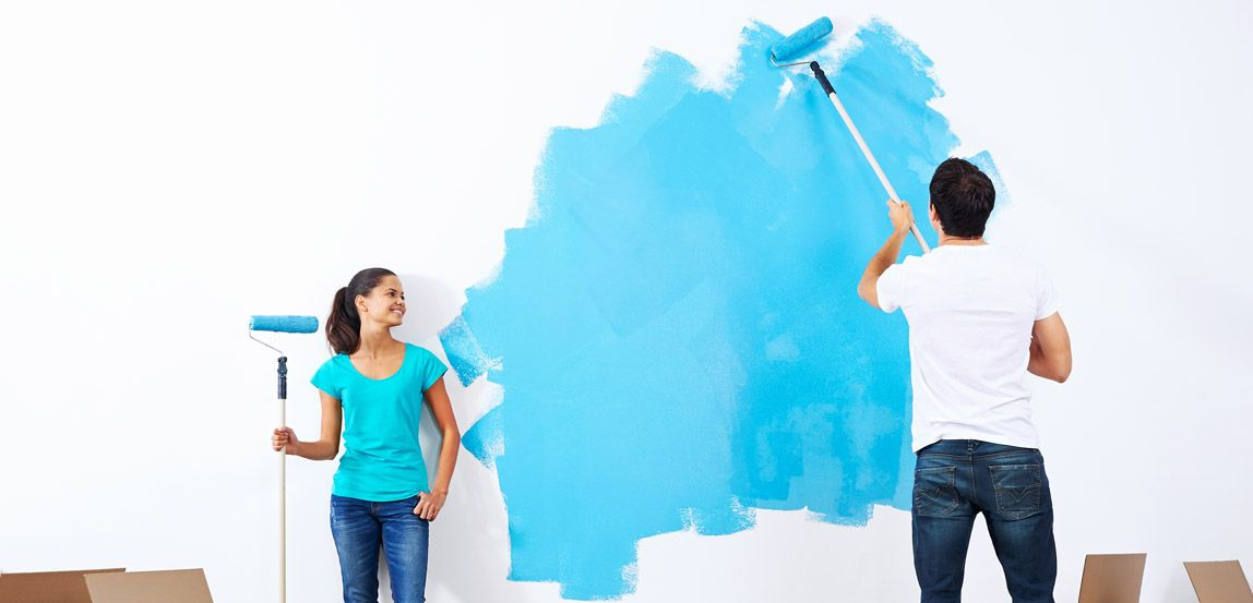 Exceptional House Painting Part - 12: A Comparative Study Of Different Types Of Wall Paints : Emulsion Paints Vs  Distemper Paints - PaperToStone