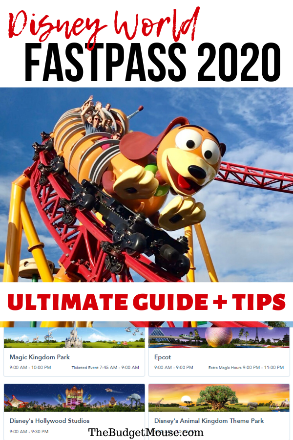 Disney Fast Pass 2020: Ultimate Guide + Free Printable