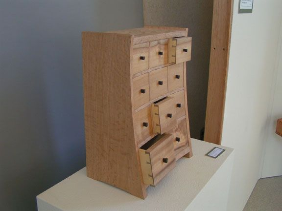 Beatiful Apothecary Style Cabinet From The College Of The Redwoods Show A  Few Years Ago