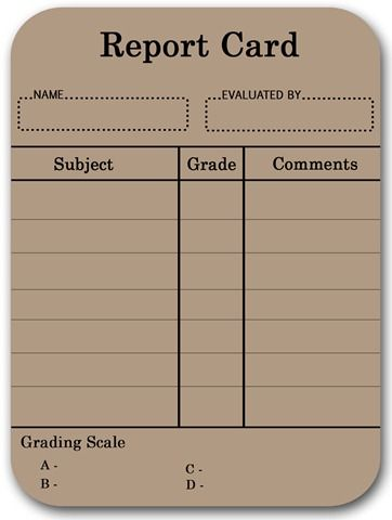 Report card template free homeschool report cards i have printed report card blank4jpg stankong pinterest report cards report card template pronofoot35fo Image collections