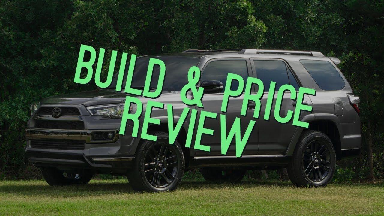 Toyota Build And Price >> 2019 Toyota 4runner Trd Off Road Premium Build Price