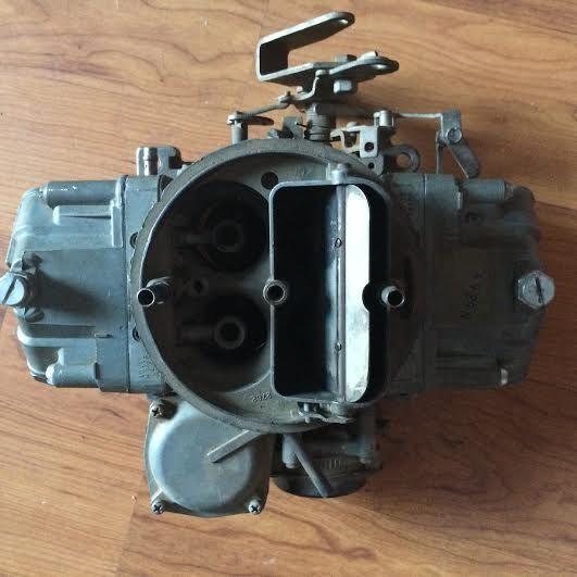 HOLLEY CARBURETOR 780 CFM DOUBLE PUMPER SPREADBORE LIST