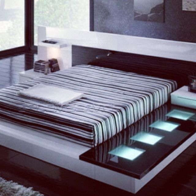 Modern interior design ultra modern platform bed - Ultra contemporary bedroom furniture ...