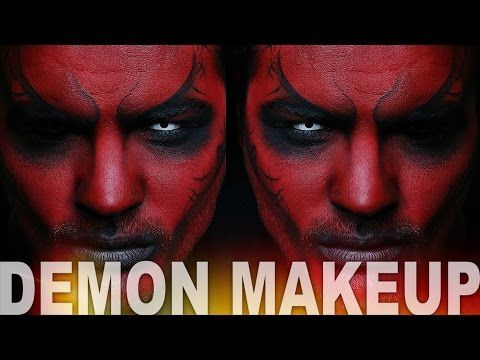 demon makeup halloween makeup tutorial alex faction youtube halloween makeup ideas. Black Bedroom Furniture Sets. Home Design Ideas