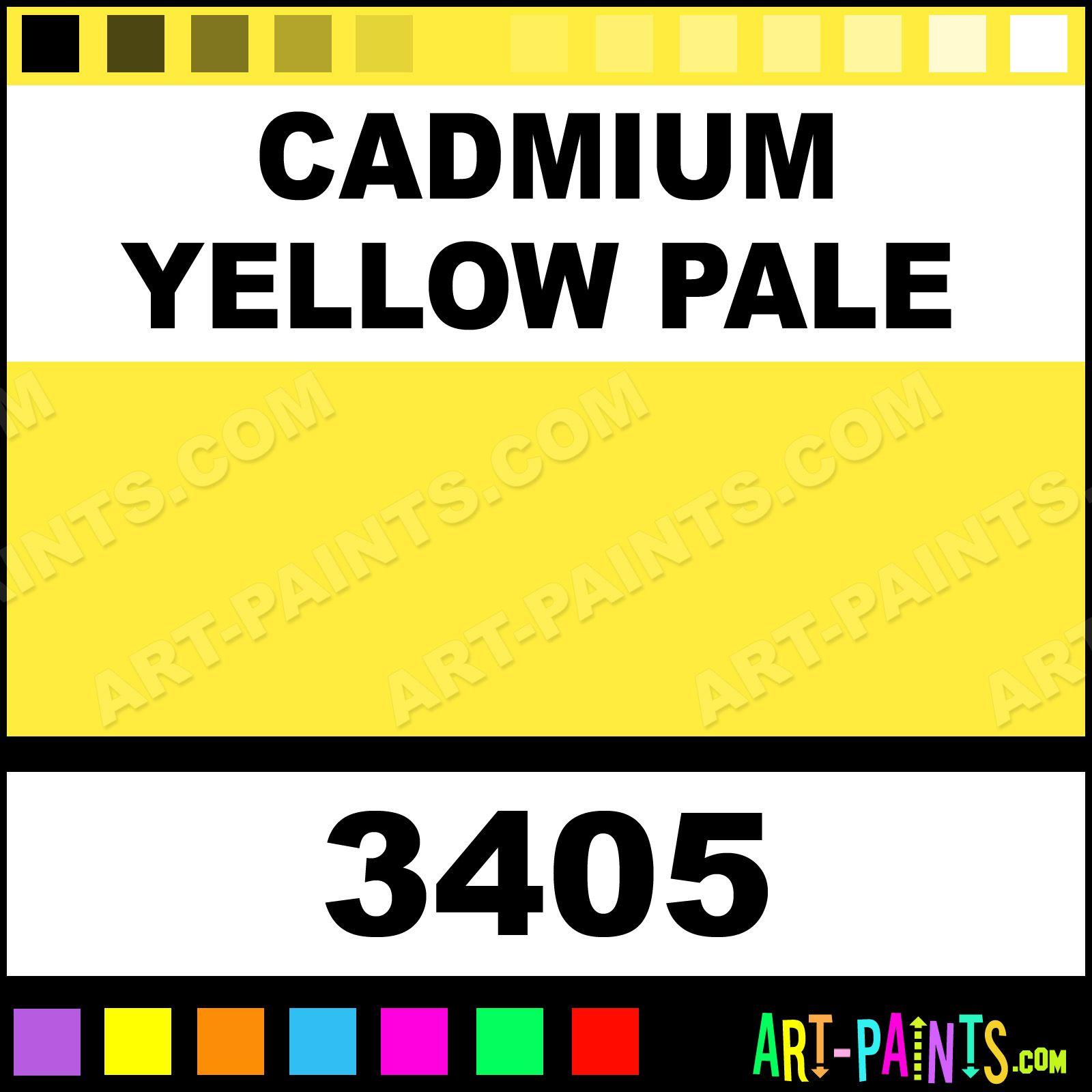 Cadmium Yellow Pale FfecD