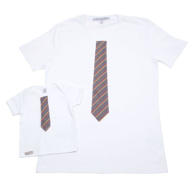 Mini-Me Father & Son Matching Tie T-shirt Sets - Fathers Day Gift £40.00