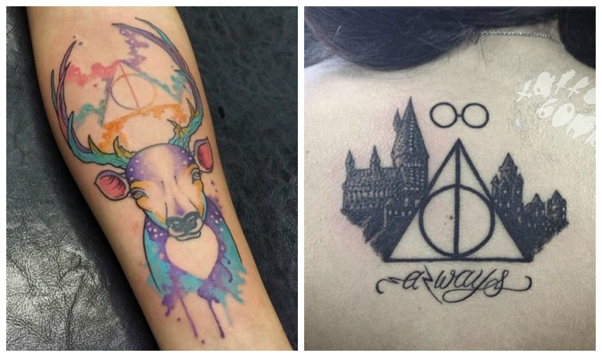 tatouage bras femme au fesses