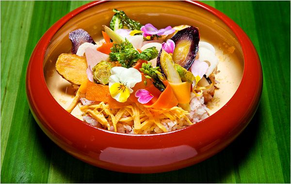 Japanese food...can it be vegetarian too!