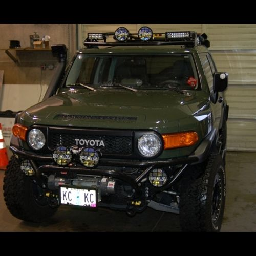 Metal Tech Fj Cruiser Light Bar 2007 2014 Fj Cruiser Toyota Fj Cruiser Cruisers