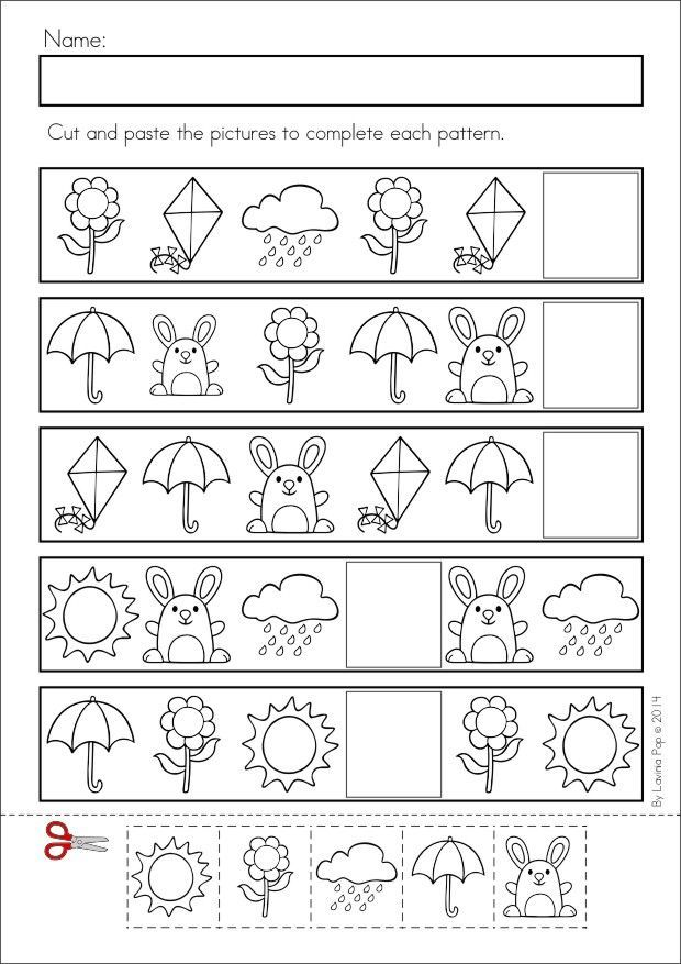 Kindergarten Patterns Worksheet Scalien – Patterning Worksheets for Kindergarten