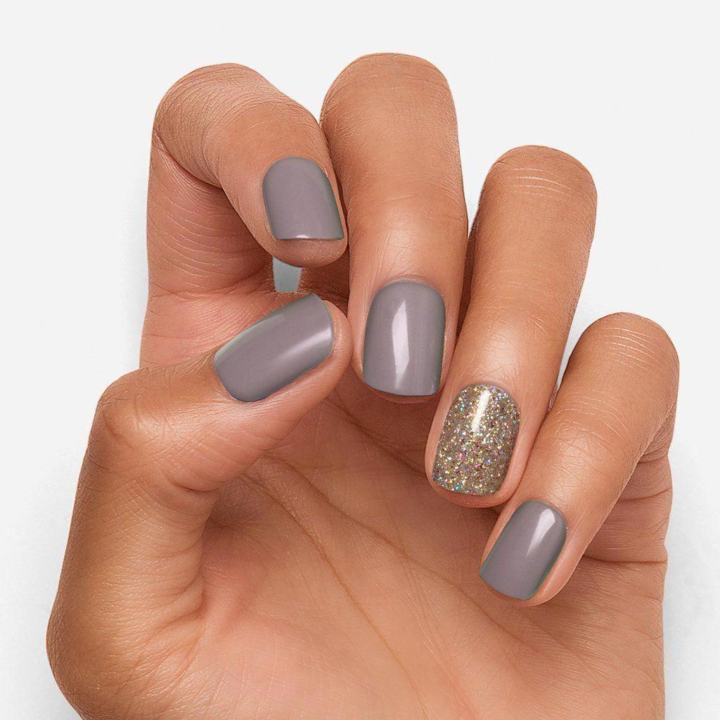 Mauvelous in 2020 | Short gel nails, Wedding nail polish ...