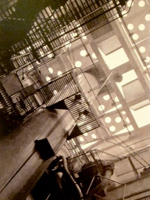 """Ise Gropius """"View of the engine room on the North German Lloyd ship"""" 1928"""