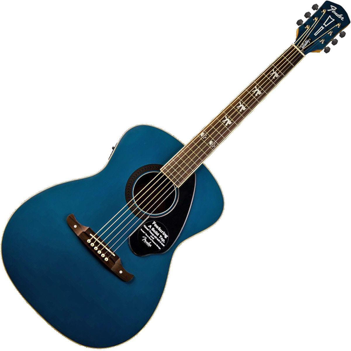 Fender 0971752027 Tim Armstrong Hellcat Sapphire Acoustic Guitar Guitar Classic Guitar Acoustic Guitar