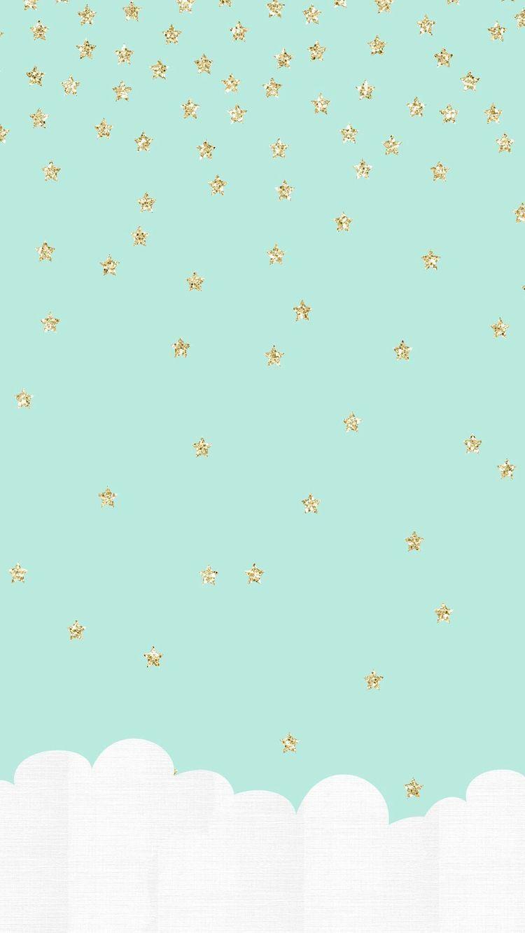 キラキラかわいい夜空iPhone壁紙 iPhone 7/7 PLUS/6/6PLUS/6S