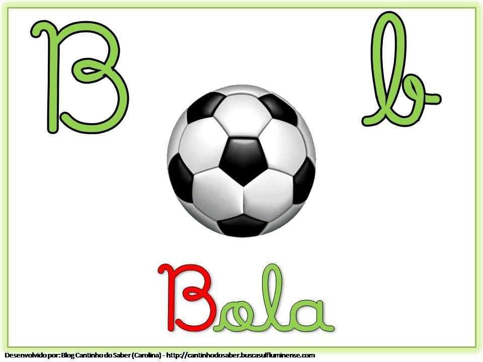 Alfabeto Colorido com Letra Cursiva para Imprimir B | ESCOLA ...