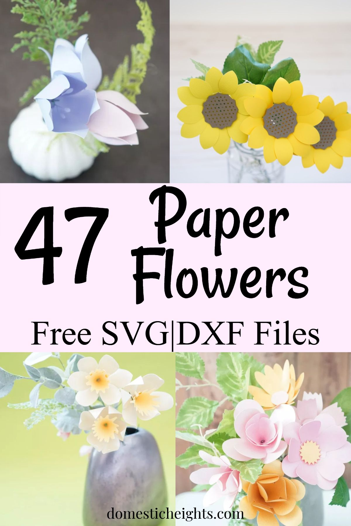 Paper Flower Bouquets Paper Flowers Paper Flower Patterns