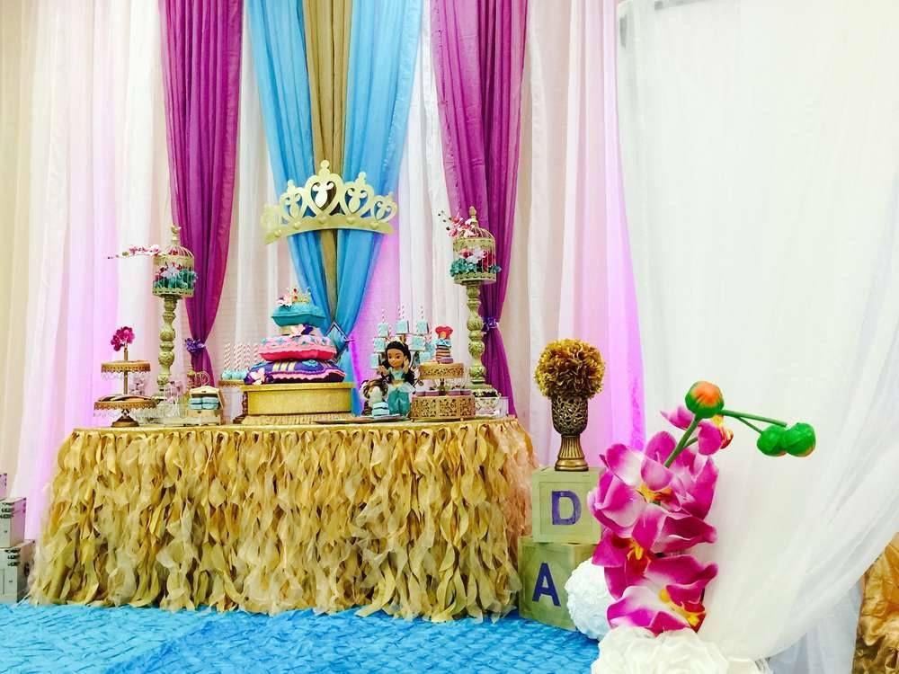 Bella decoraci n de la princesa jasmin baby ideas for Decoracion de princesas