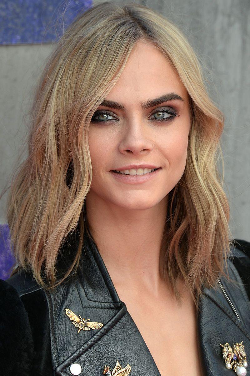 Cara Delevigne 40 Most Stylish Mid Length Haircuts