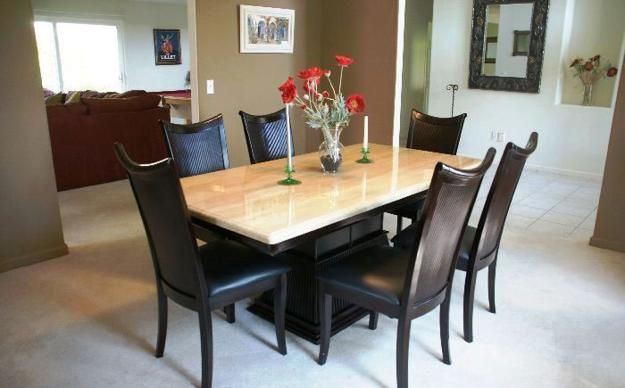 Delightful Modern Dining Room Sets Granite Top Dining Table Storage Dining Table Set  800x600 | Kitchen Ideas | Pinterest | Granite Dining Table, Dinning Table  And ...