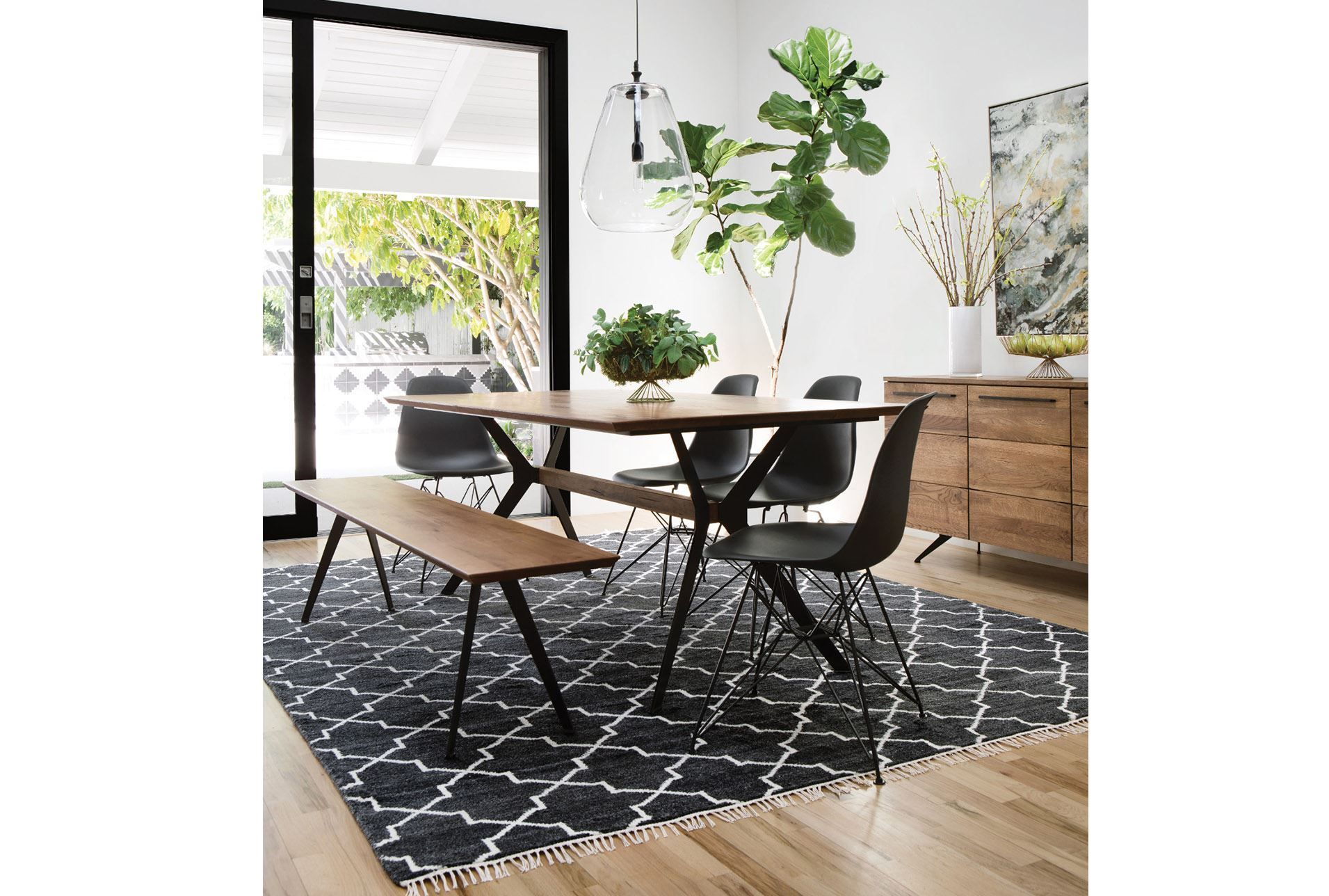 Weaver Dining Table - Living Spaces | Side chairs, Chair ...