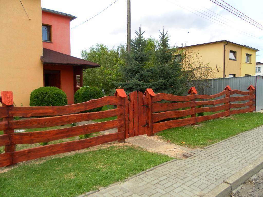 Plot Ploty Ogrodzenie Drewniany Drewniane 2051645922 Oficjalne Archiwum Allegro Outdoor Decor Entrance Gates Home Decor