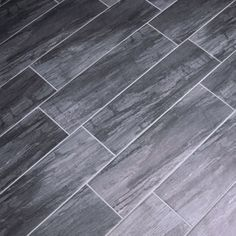 Dark Gray Wood Look Floor Tile Google Search