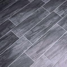 Dark Gray Wood Look Floor Tile Google Search Gray Wood Tile