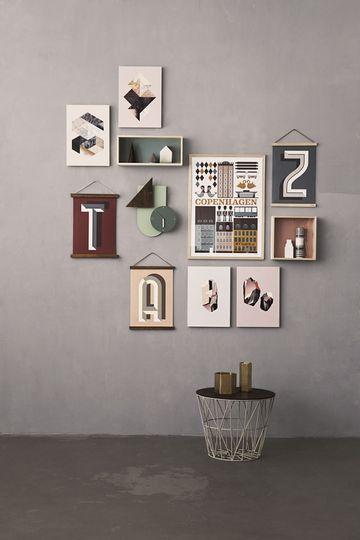 Décoration Murale : 20 Idées Pour Accrocher Ses Cadres   Mur De