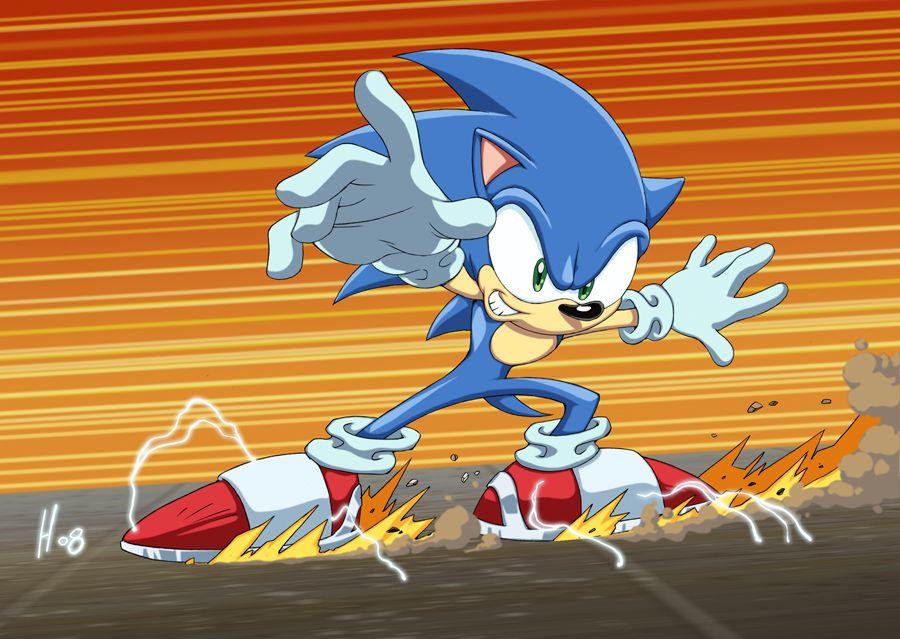 Sonic Slide Color By Dhutchison On Deviantart Sonic Hedgehog Art Sonic Art