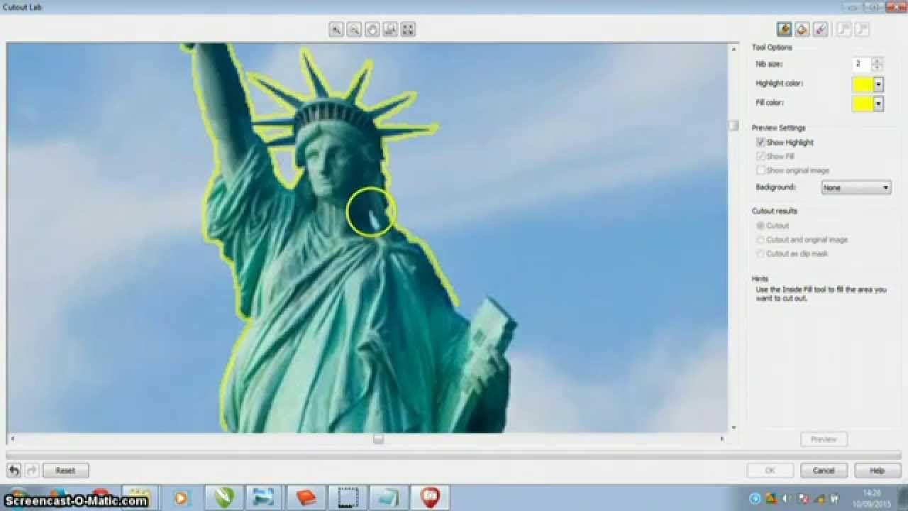 Cara Mengganti Background Foto Dengan Coreldraw