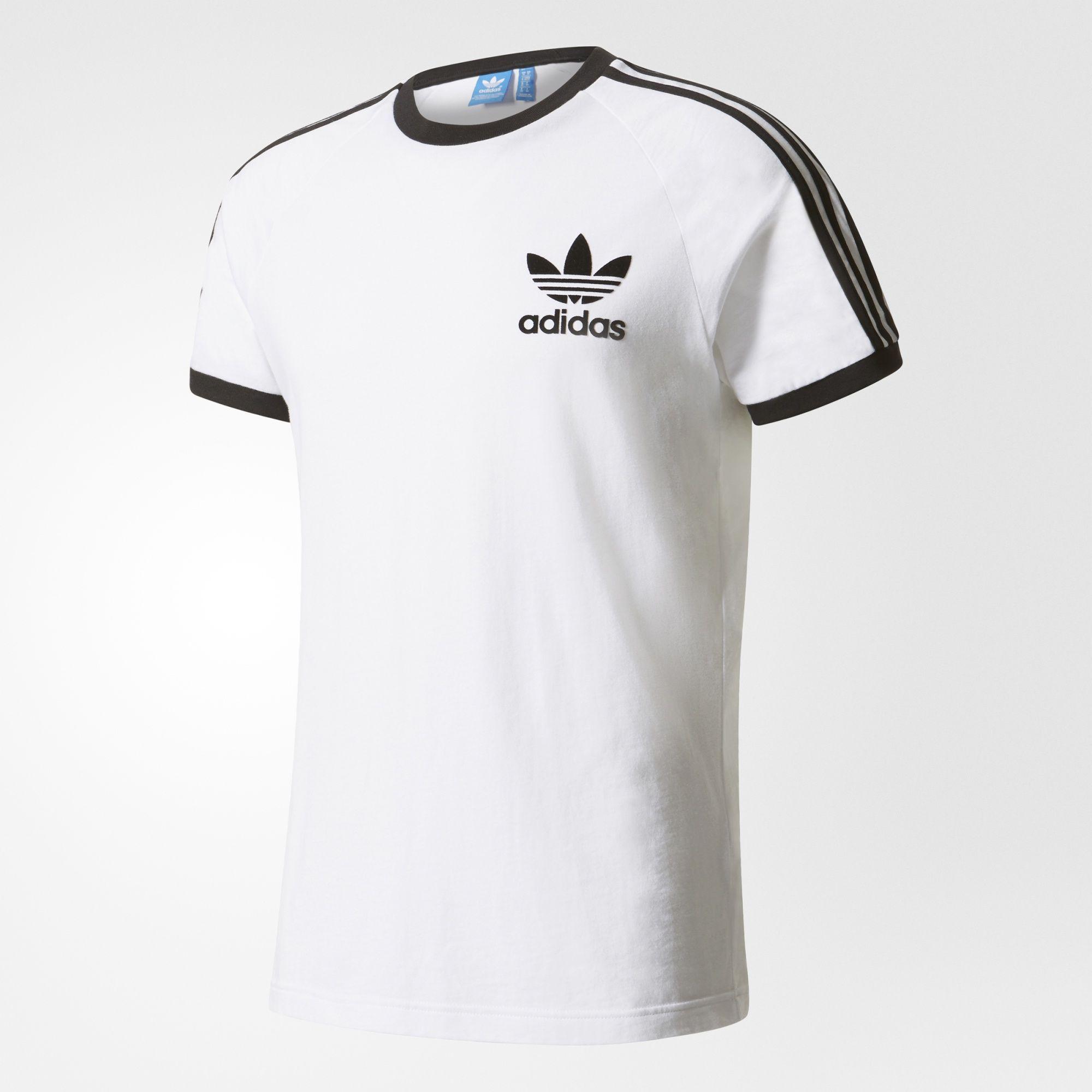 Regreso gatito saludo  adidas - Camiseta CLFN | Camisetas deportivas, Adidas para hombres, Camisas  blancas hombre