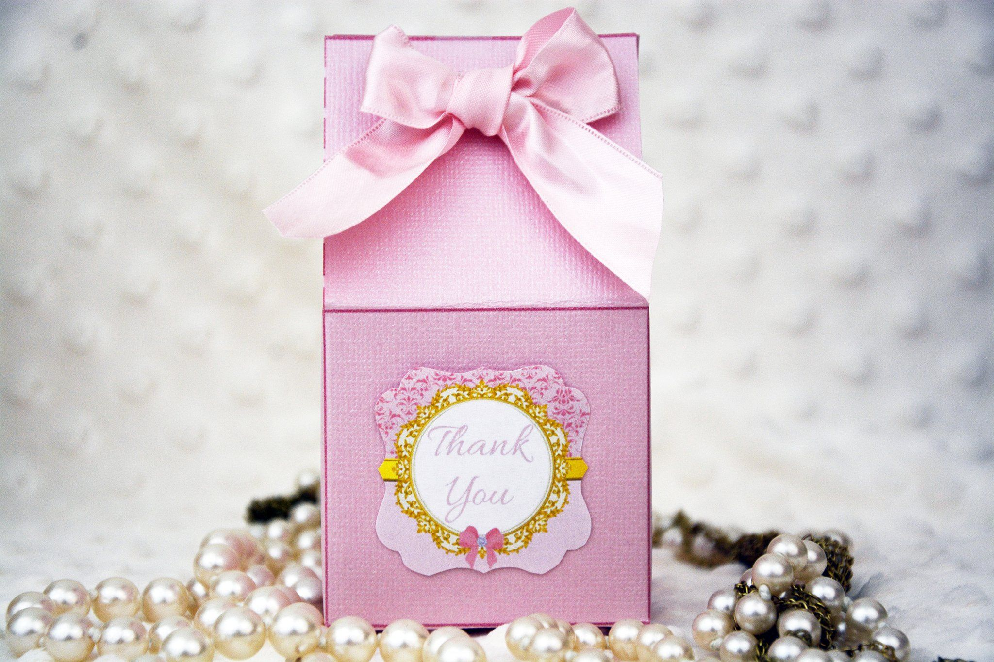 Pink and Gold Favor Boxes | Pinterest | Favors and Gold birthday