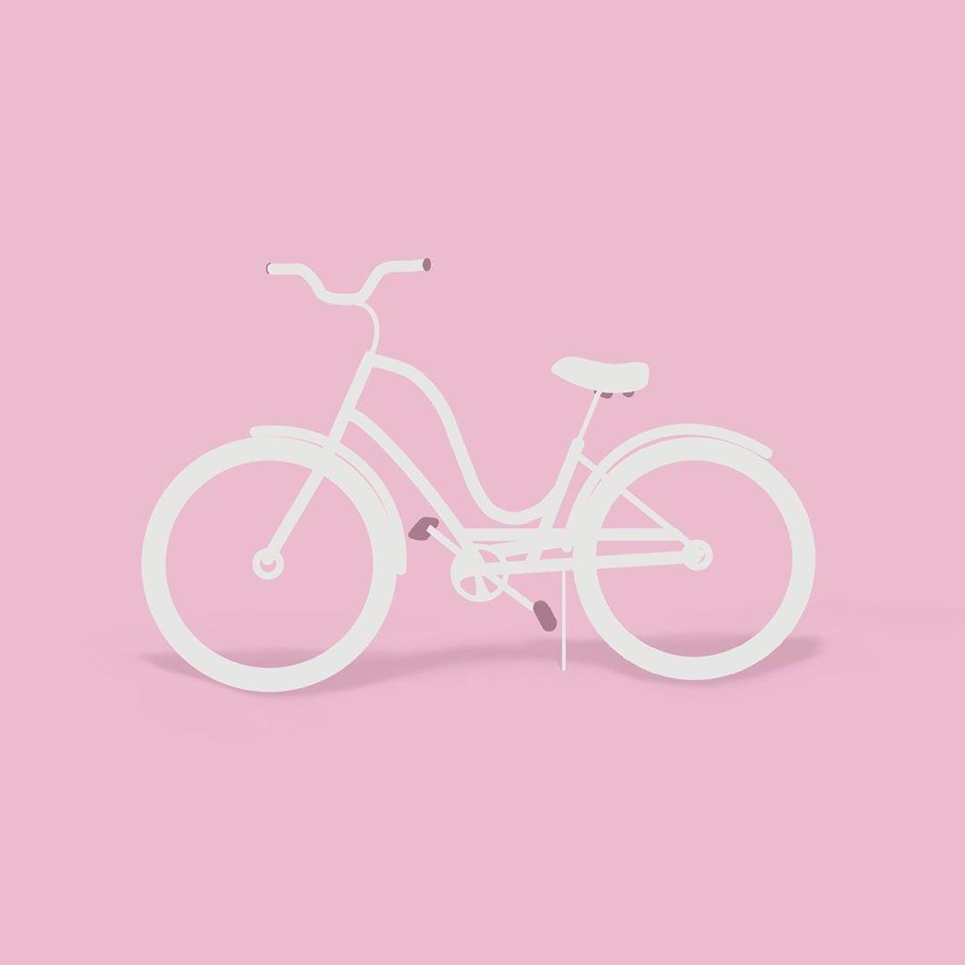 """Arabella Green on Instagram: """"🚲 • • • • #designaday #2020 #art #instadesigner #instaillustration #design #designer #graphicdesign #graphicdesigner #illustration…"""""""