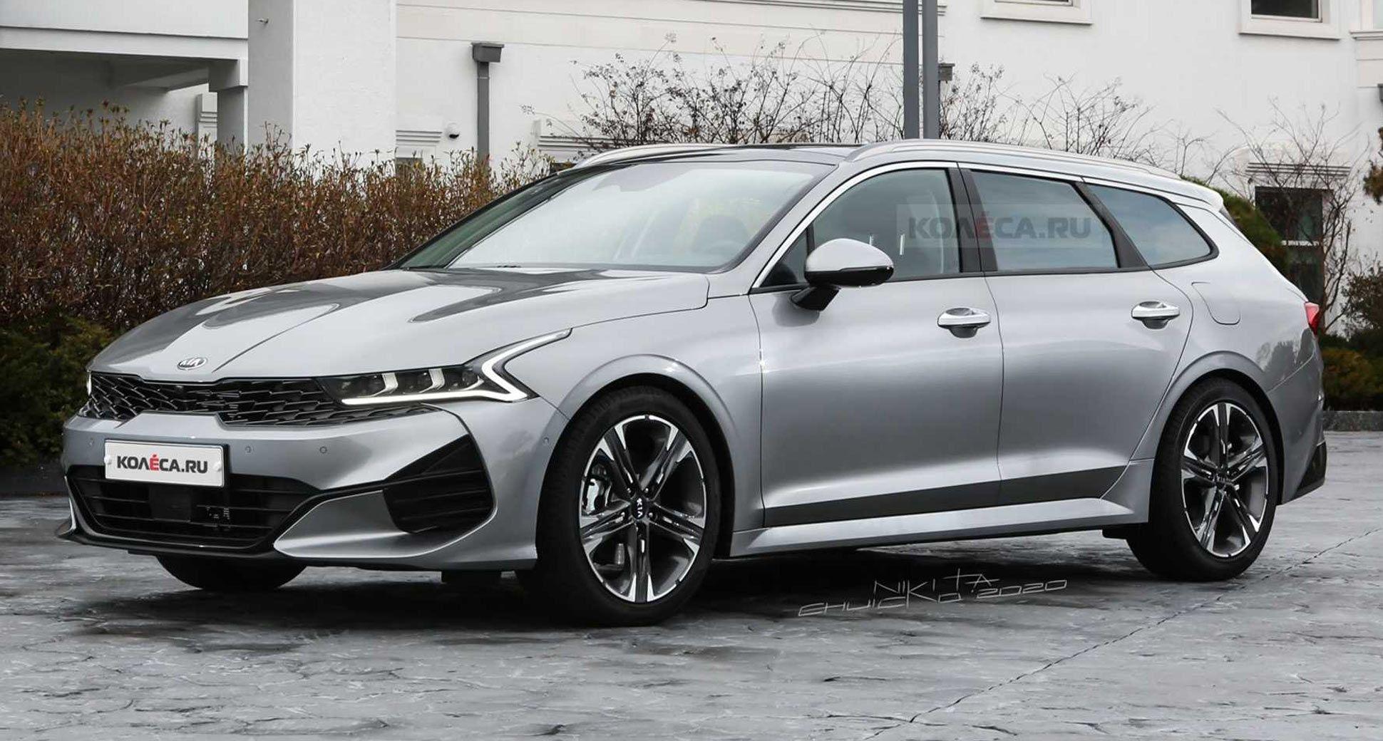 New 2021 Kia Optima K5 Looks Seductive As A Sports Wagon Kia Kiak5 Kiaoptima Renderings Cars Carsofinstagram Car In 2020 Sports Wagon Kia Optima Kia Optima K5