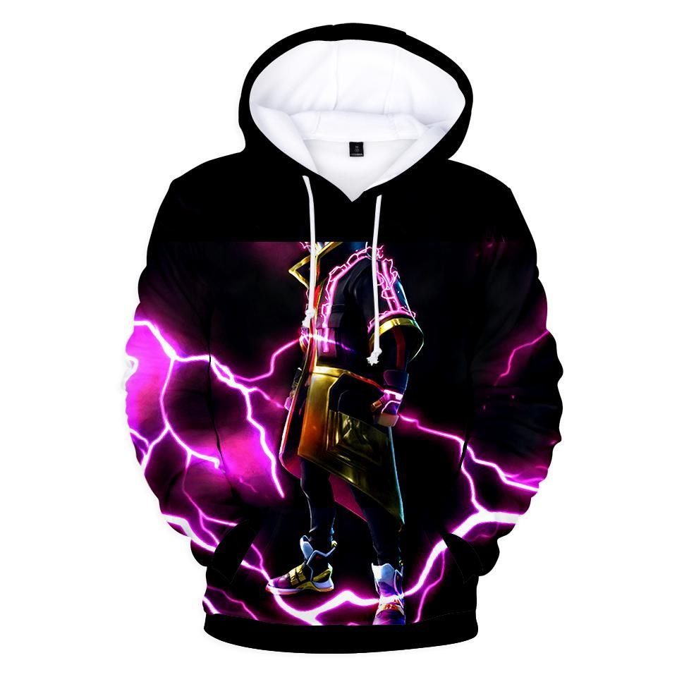 f2f6c25a5cec Fortnite Hoodies - Legendary Sky Fox Drift 3D Hoodie