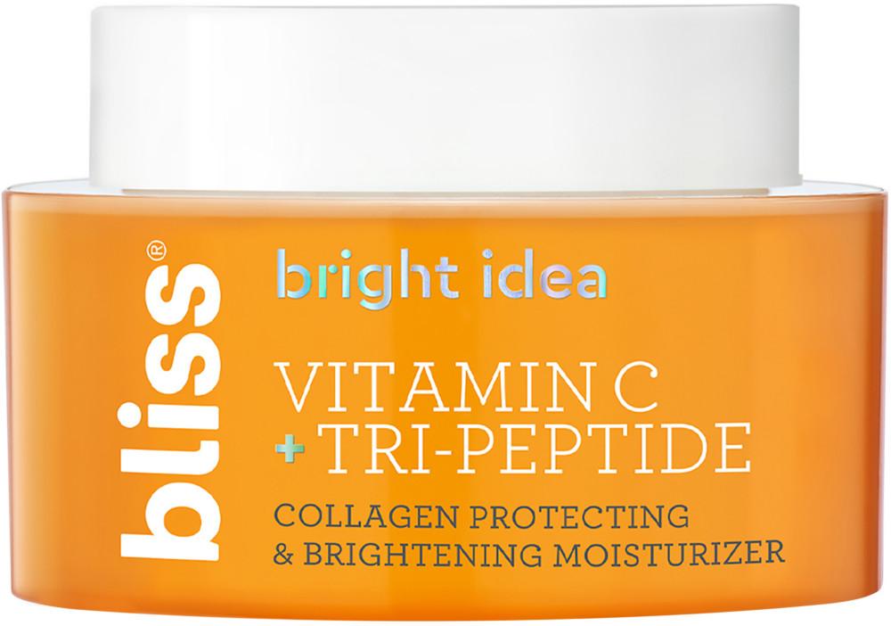 Bliss Bright Idea Vitamin C Tri Peptide Collagen Protecting Brightening Moisturizer Ulta Beauty In 2021 Brightening Moisturizer Moisturizer Skin Brightening