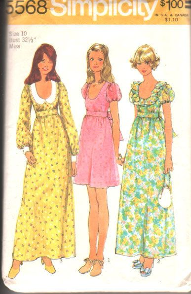 Image result for 1970's granny dress