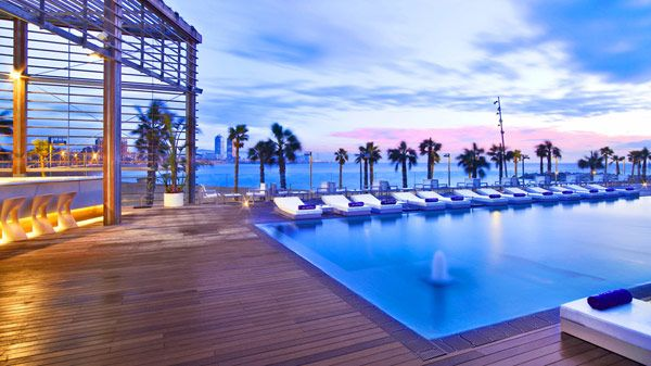 W Hotel Barcelona Nothing Like The Feeling In Summer This Is An Amazing On Beach There