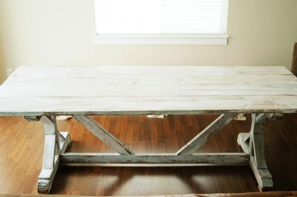 fancy x farmhouse table do it yourself home projects from ana