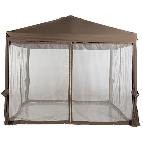 Abba Patio Mosquito Netting Replacement Screen Walls For 10x10 Ft Gazebo Canopy 76 18end Date Jul 20 04 07buy It Now For Gazebo Canopy Gazebo Garden Canopy