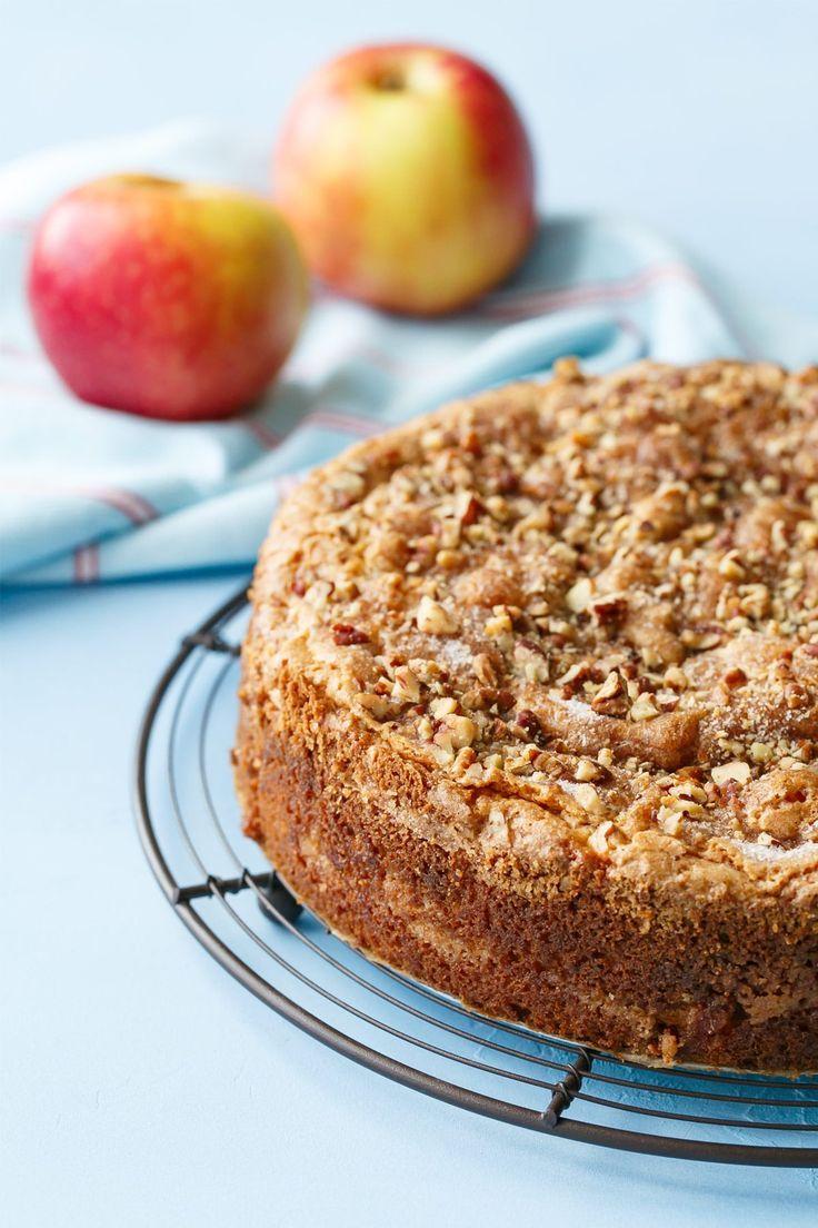 Apple Sour Cream Coffee Cake Love And Olive Oil Recipe Sour Cream Coffee Cake Grandma S Coffee Cake Coffee Cake