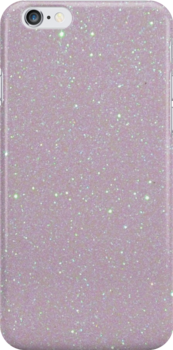 ' Pearl Opalescent Glitter June Birthstone' iPhone Case by podartist